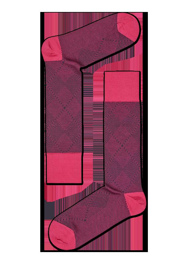 Dressed Argyle Sock