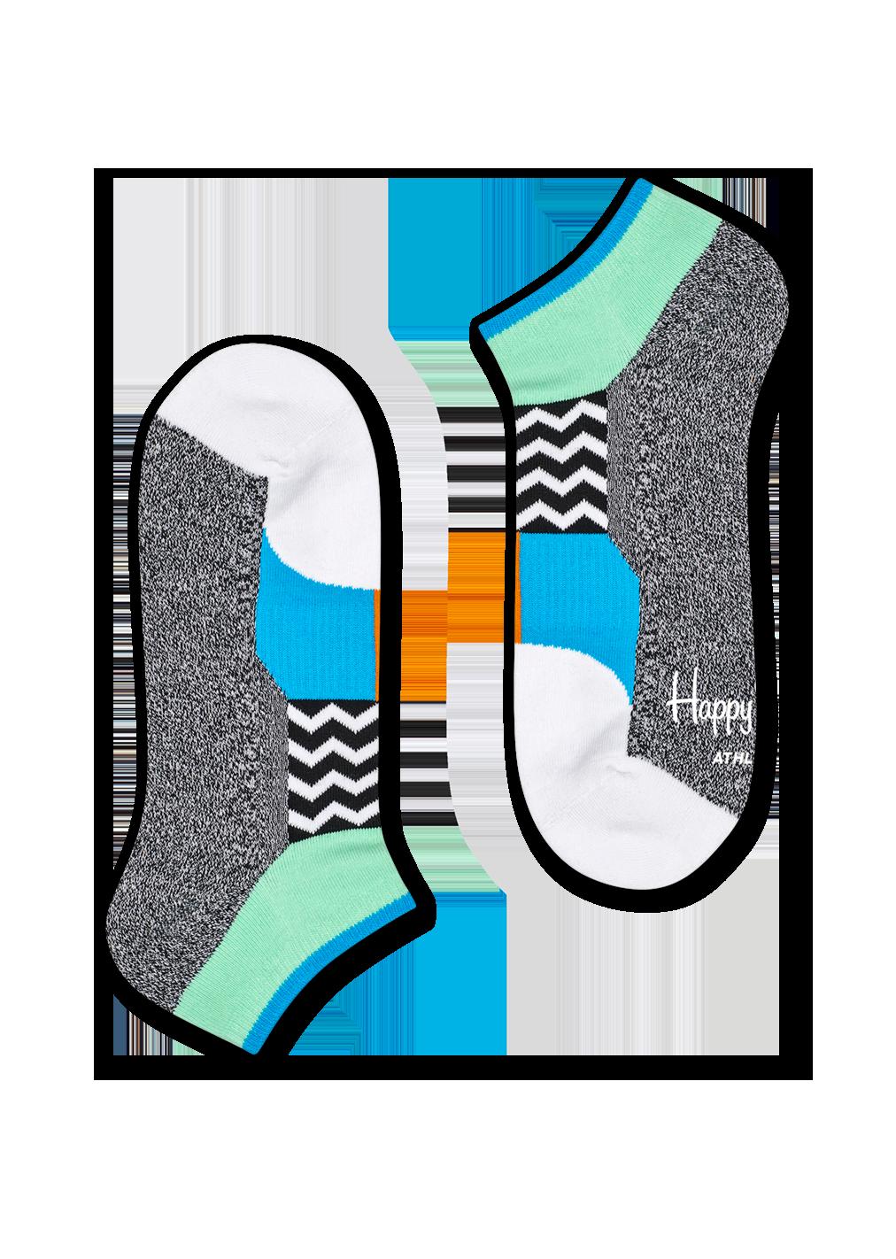 Athletic Blocked Low Sock