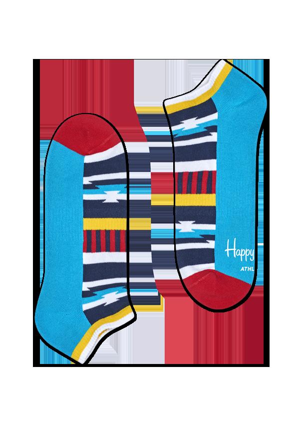 Athletic Inca Stripe Low Sock