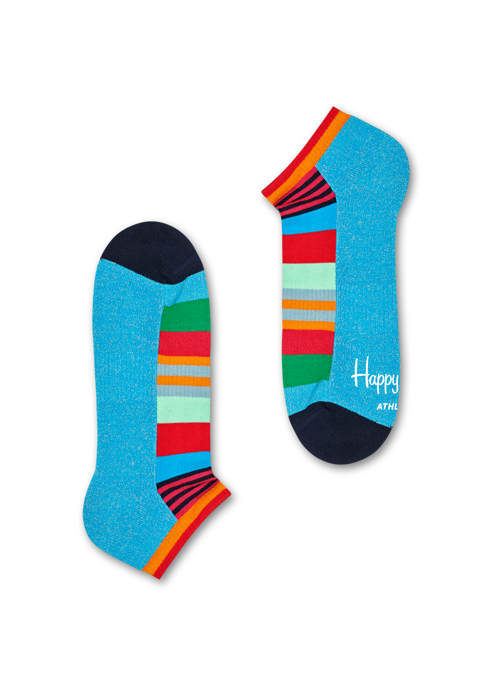 Athletic Multi Stripe Low Sock