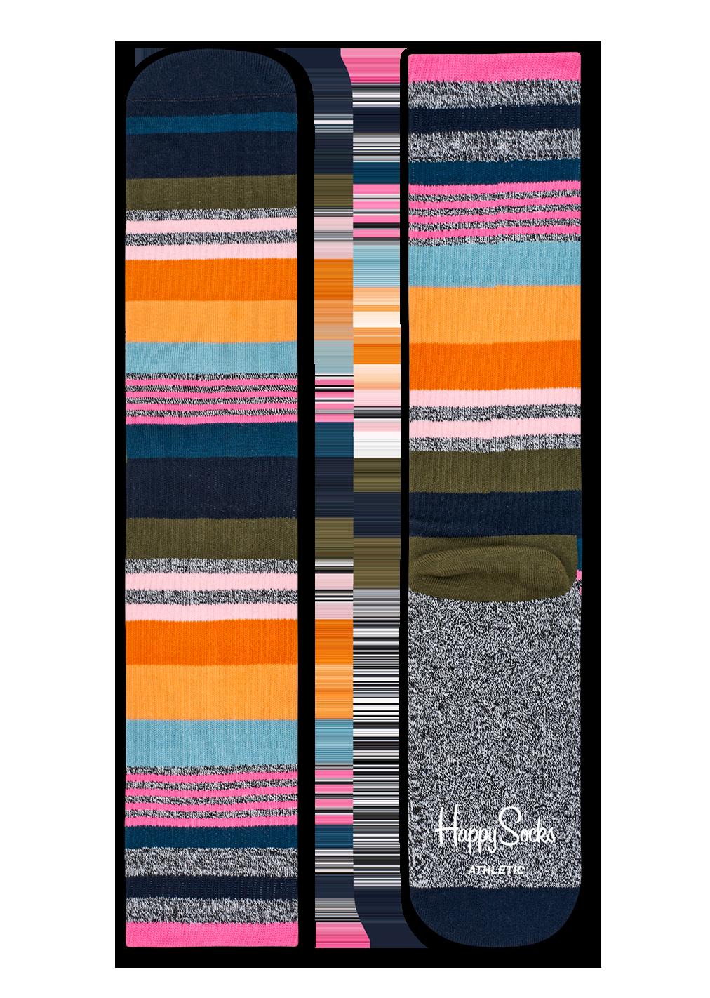 Athletic Multi Stripe Sock
