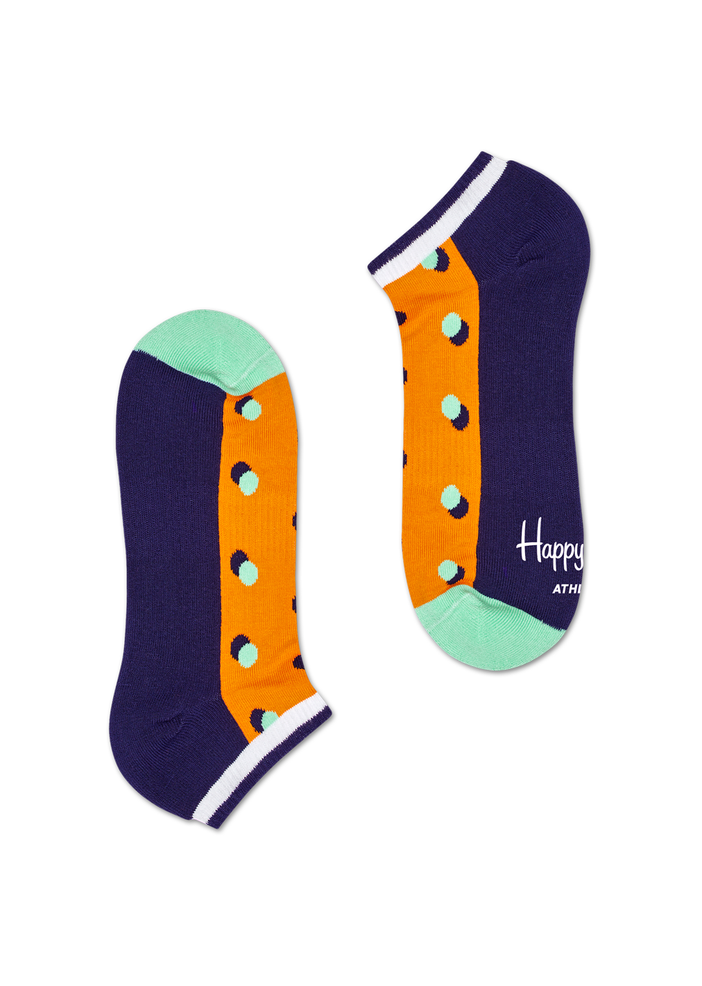 Athletic Shadow Dot Low Sock