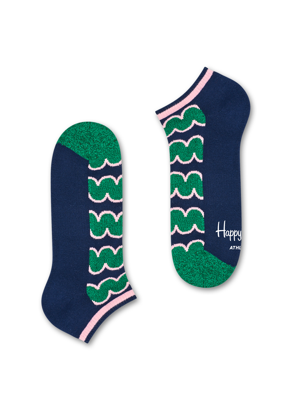 Athletic Squiggly Low Sock