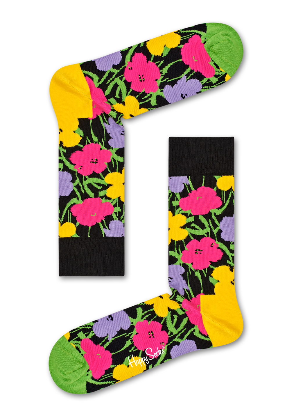 Andy Warhol Flower Sock