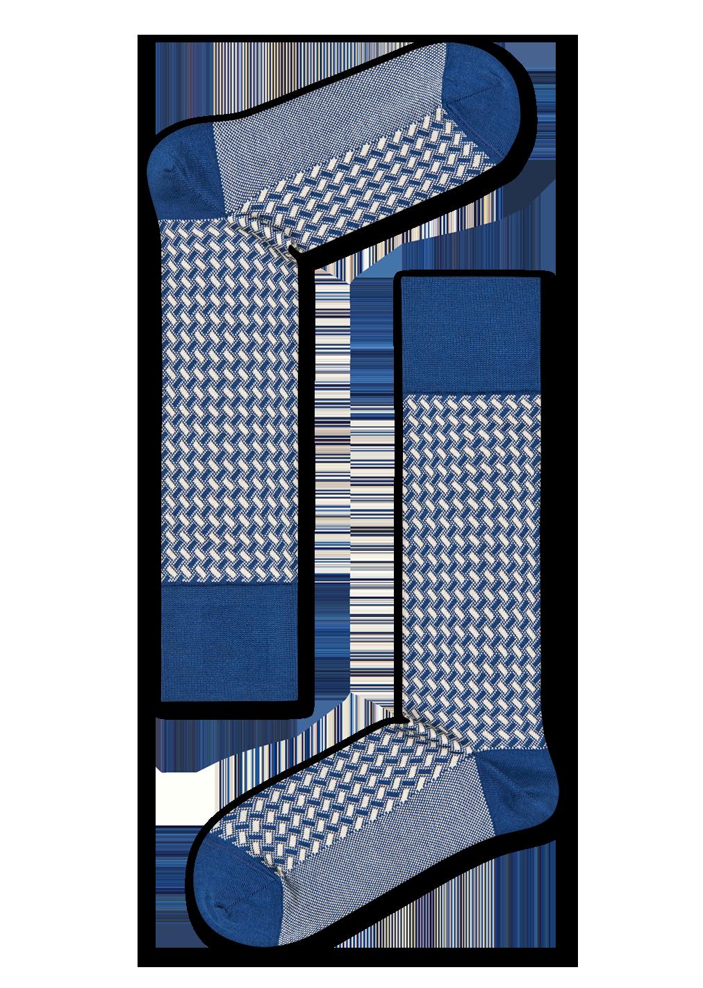 Dressed Basket Weave Sock