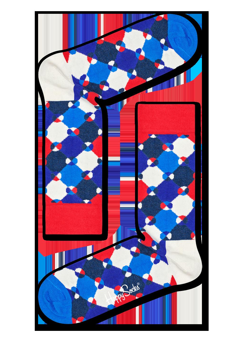 Diamond Dot Sock
