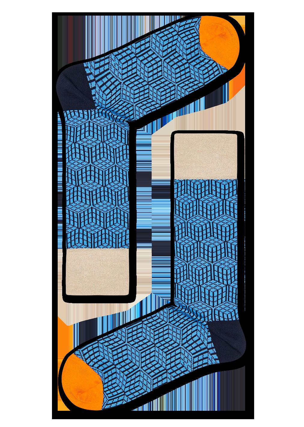 Dressed Geometric Sock