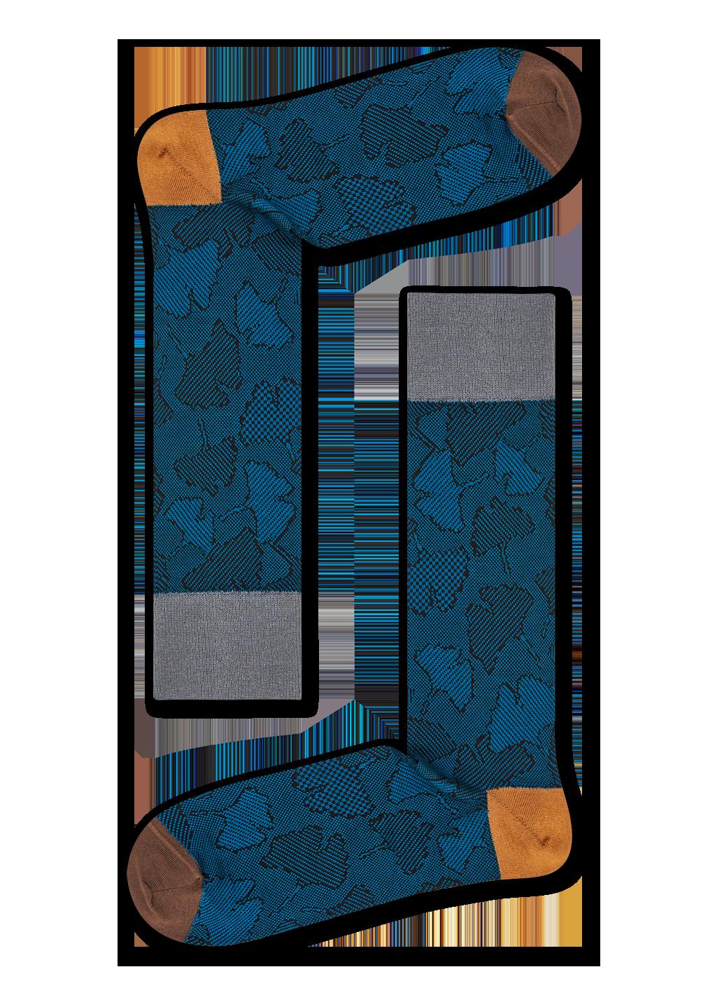 Dressed Ginkgo Sock