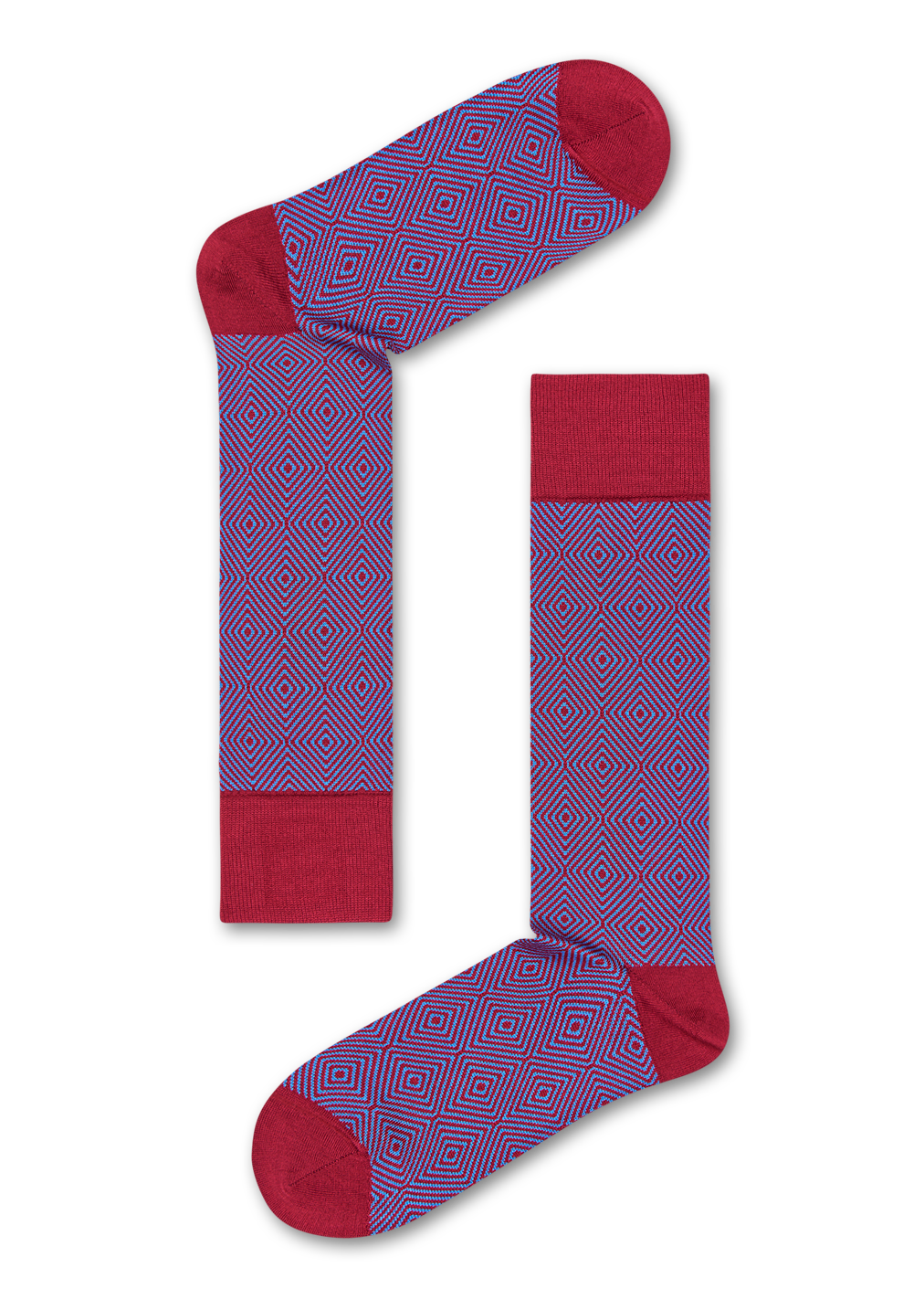 Chaussettes habillées Dressed Goose Eye, Taille 43-46