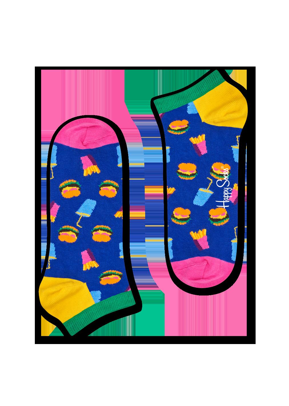 Hamburger Low Sock