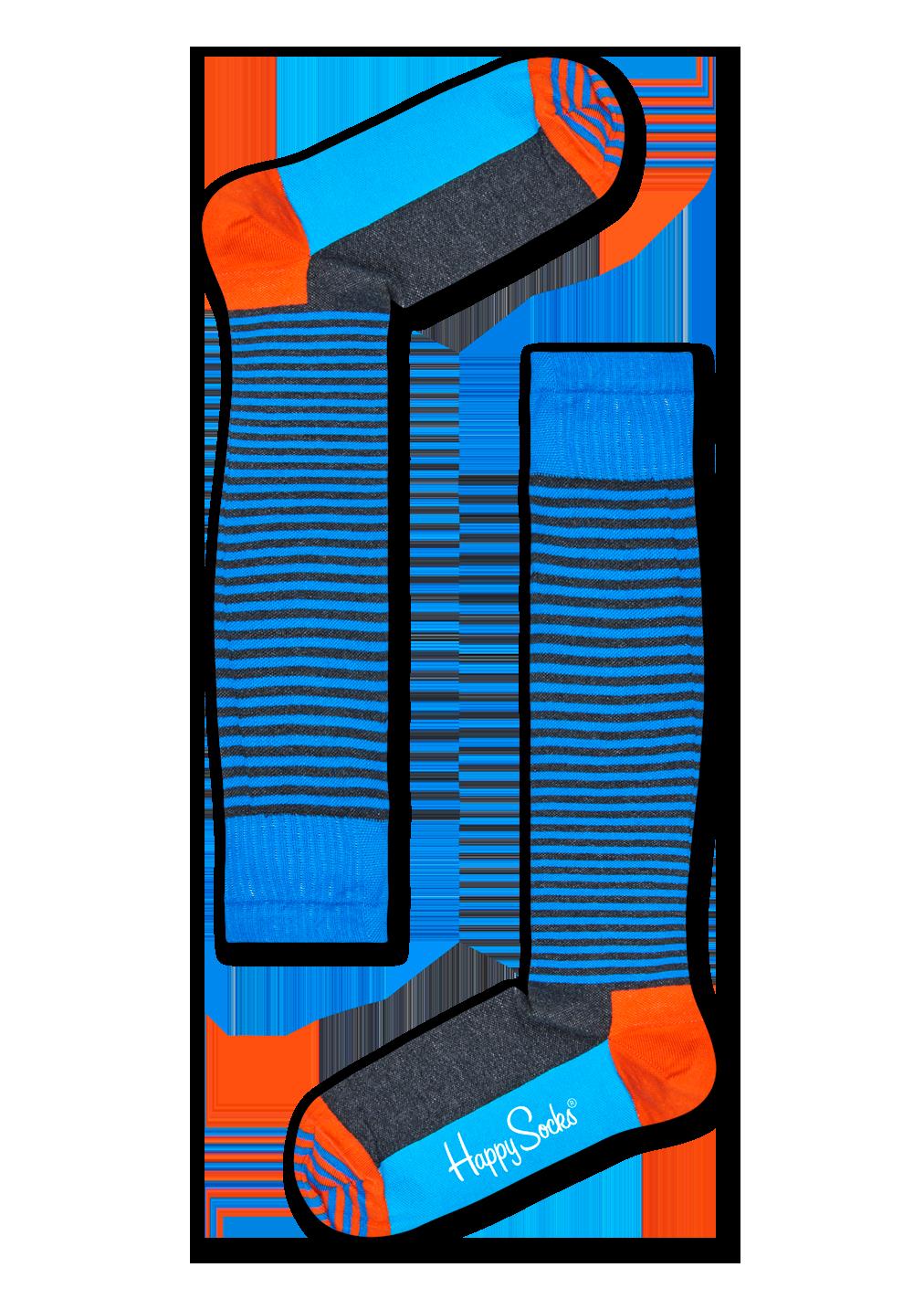 Chaussettes de contention Compression Half Stripe, Taille 39-41