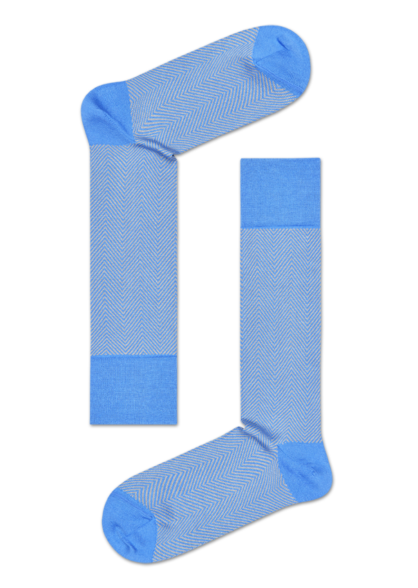 Dressed Herringbone Sock
