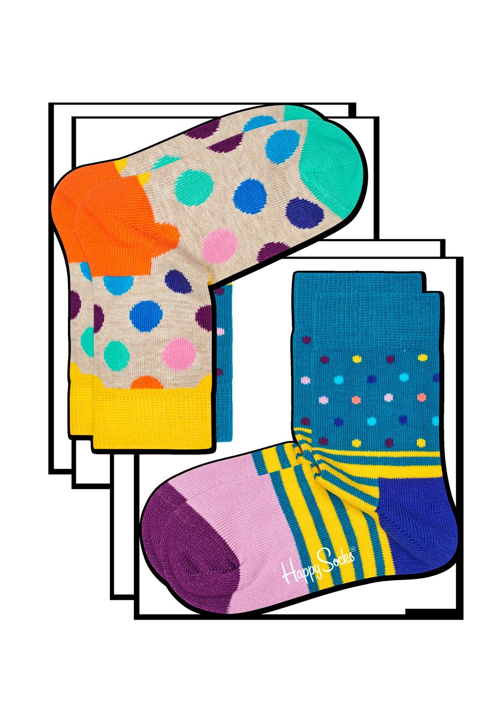 2-Pack Big Dot Socks