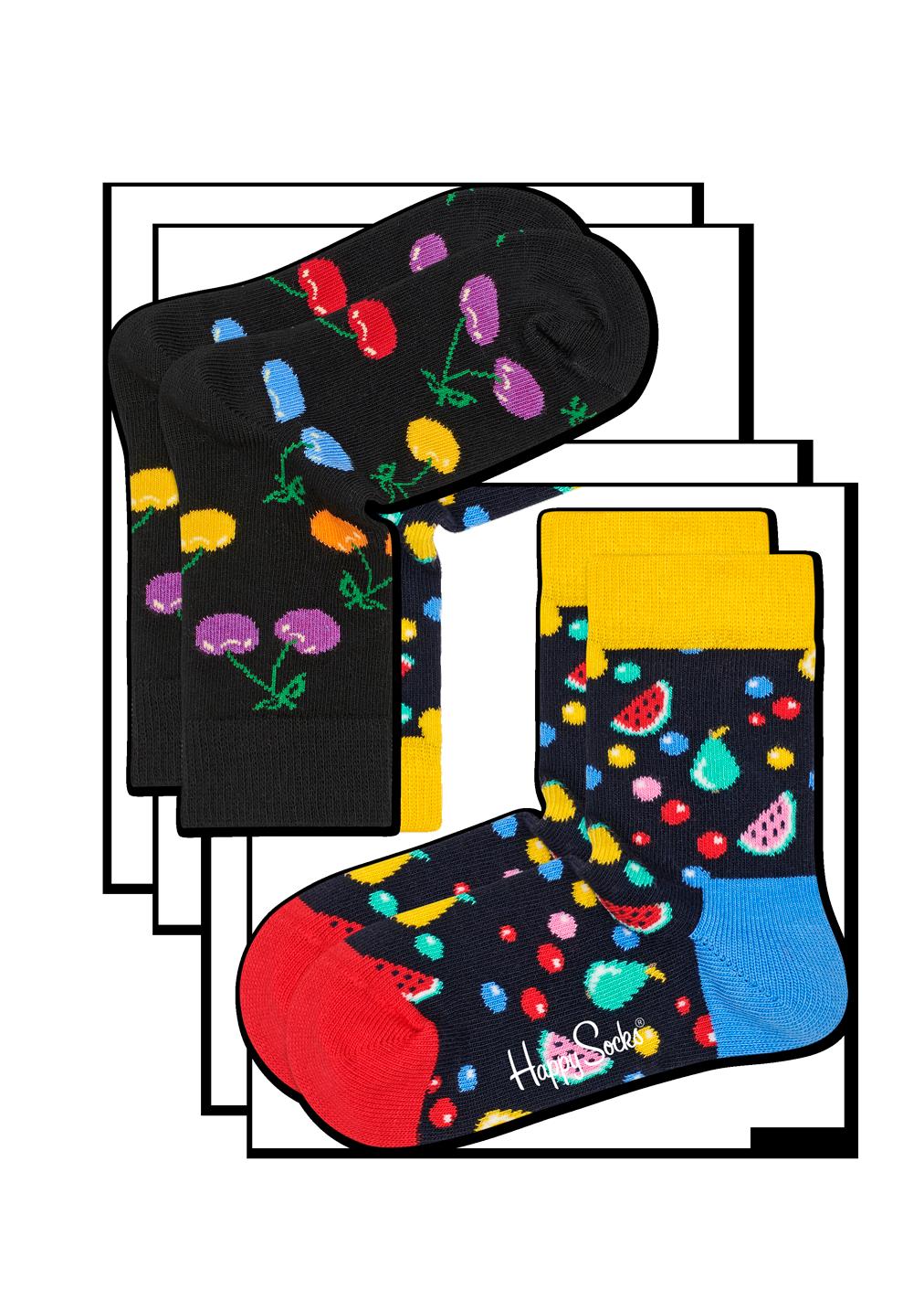 2-Pack Cherry Socks