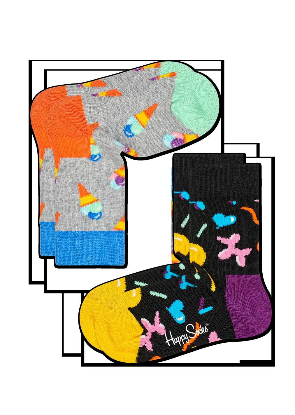 2-Pack Ice Cream Socks