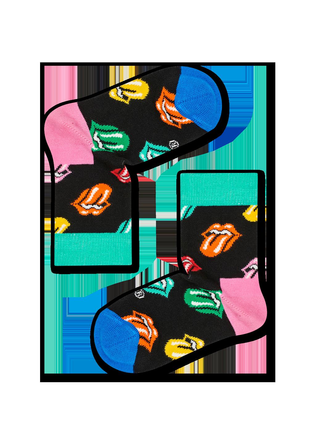 Rolling Stones Paint It Bright Sock