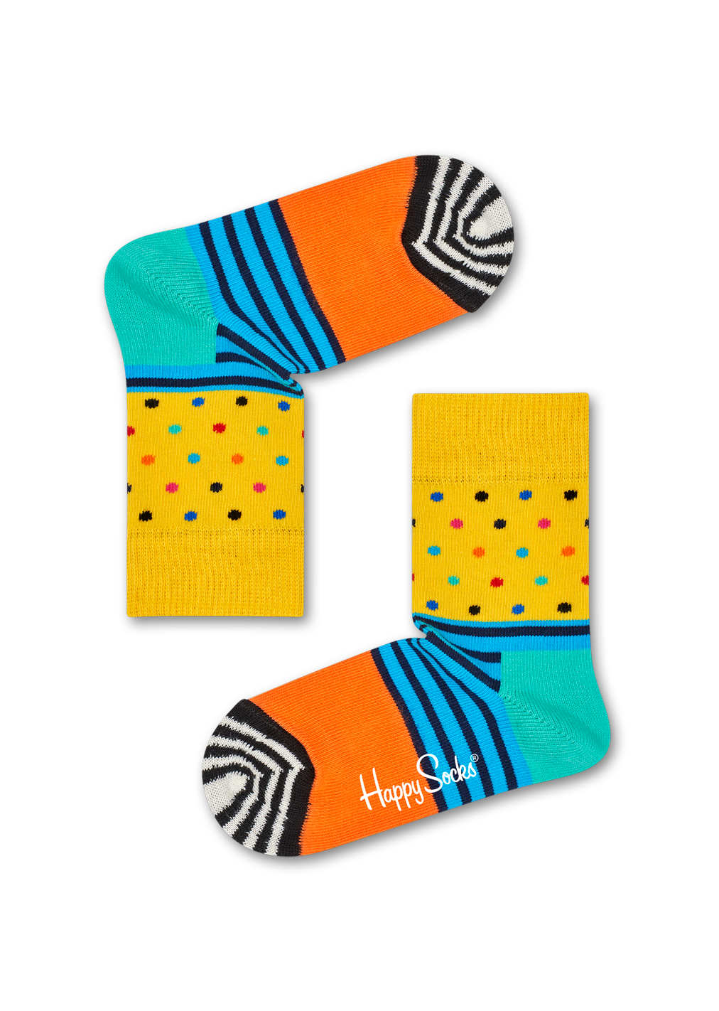 Kids Stripes & Dots Sock