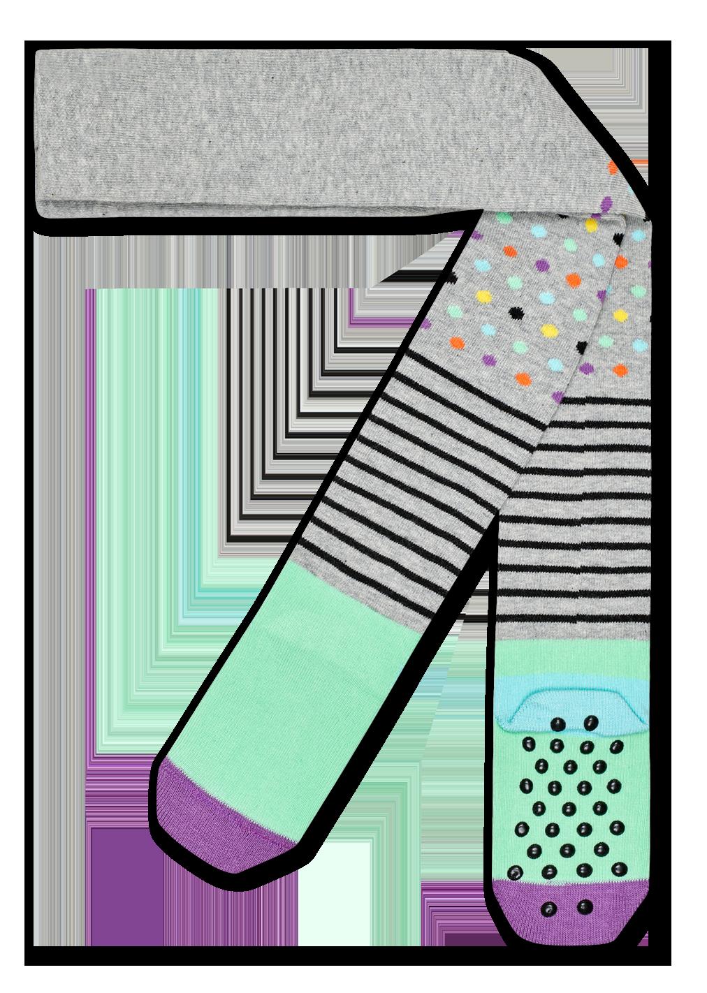 Stripes & Dots Tights