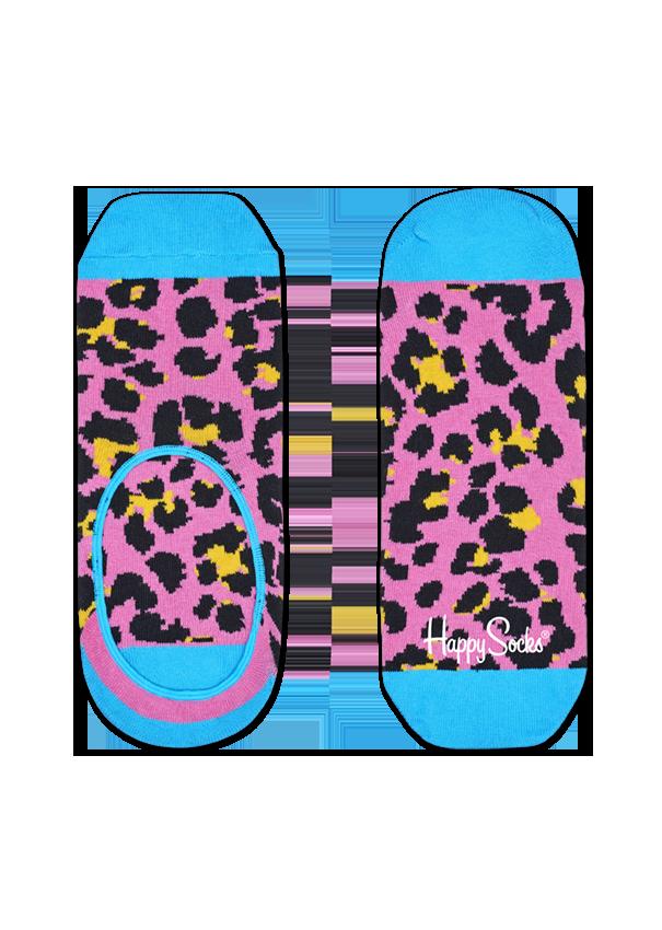 Leopard Liner Socks