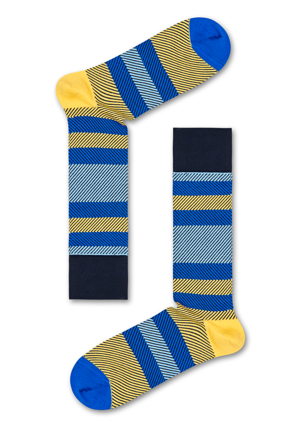 Dressed Multi Stripe Sock