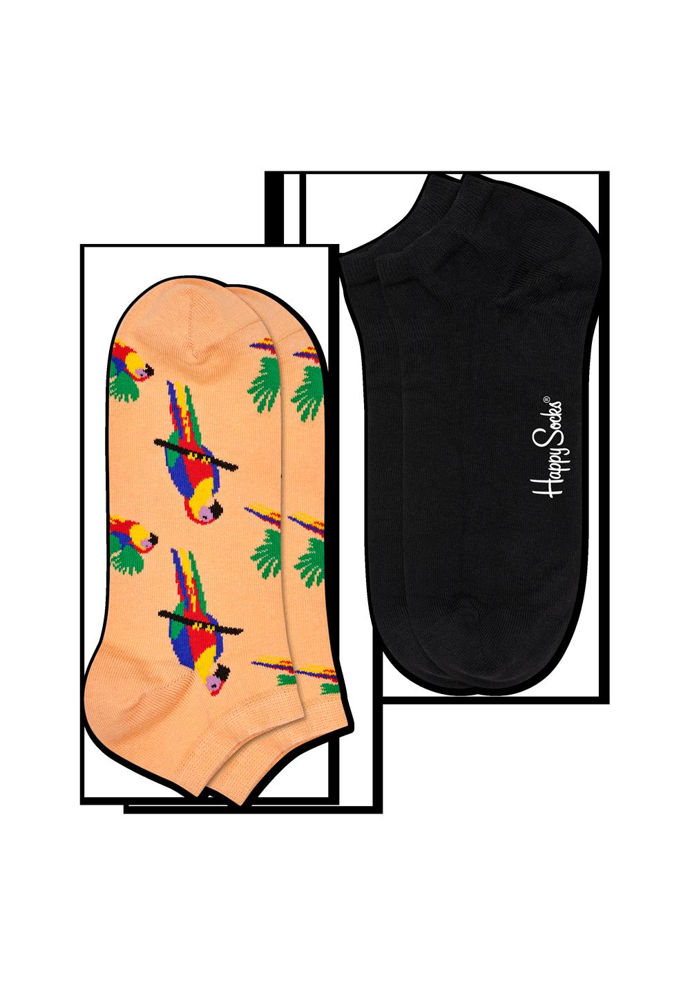 2-Pack Parrot Low Sock