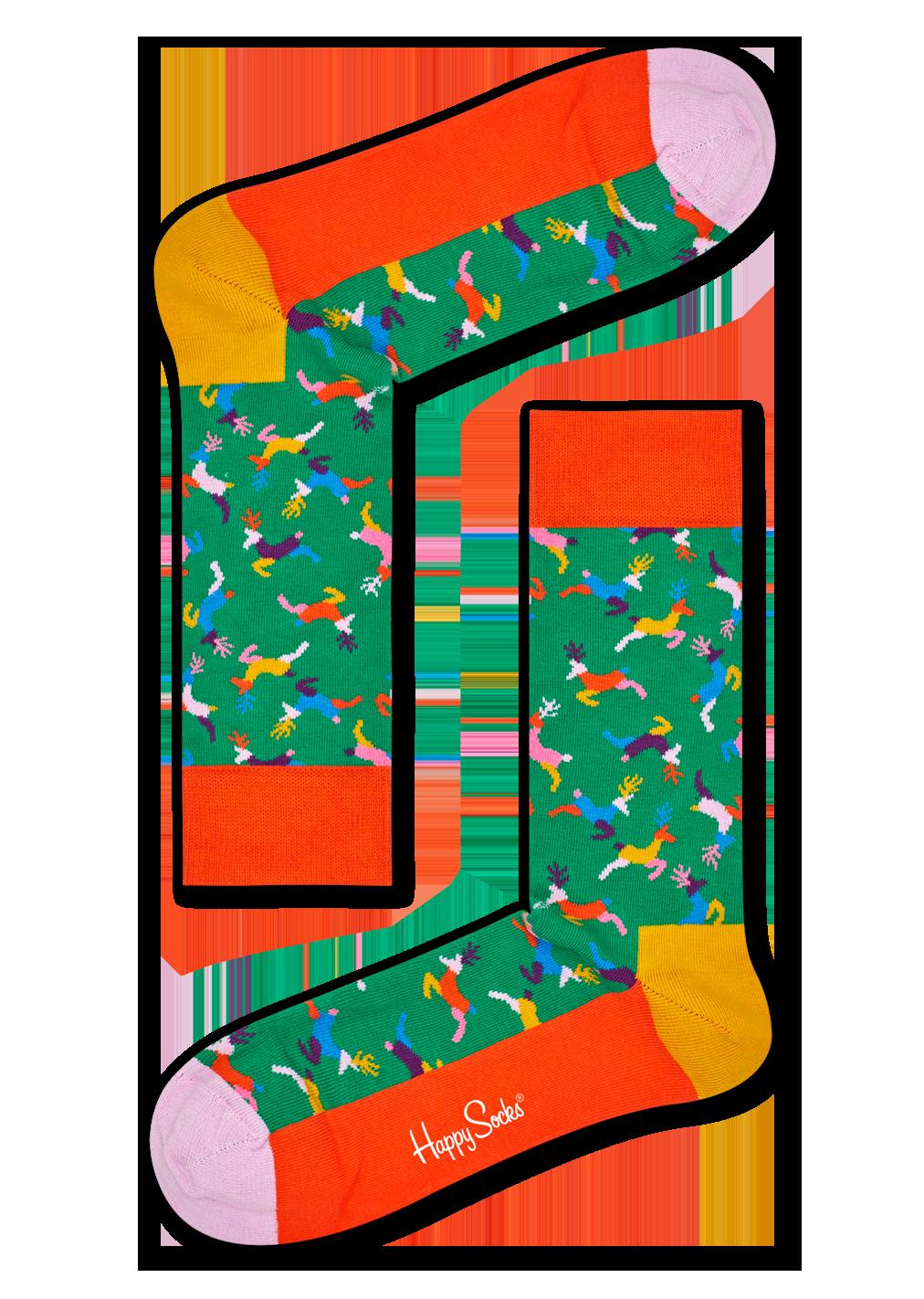 Reindeer Sock