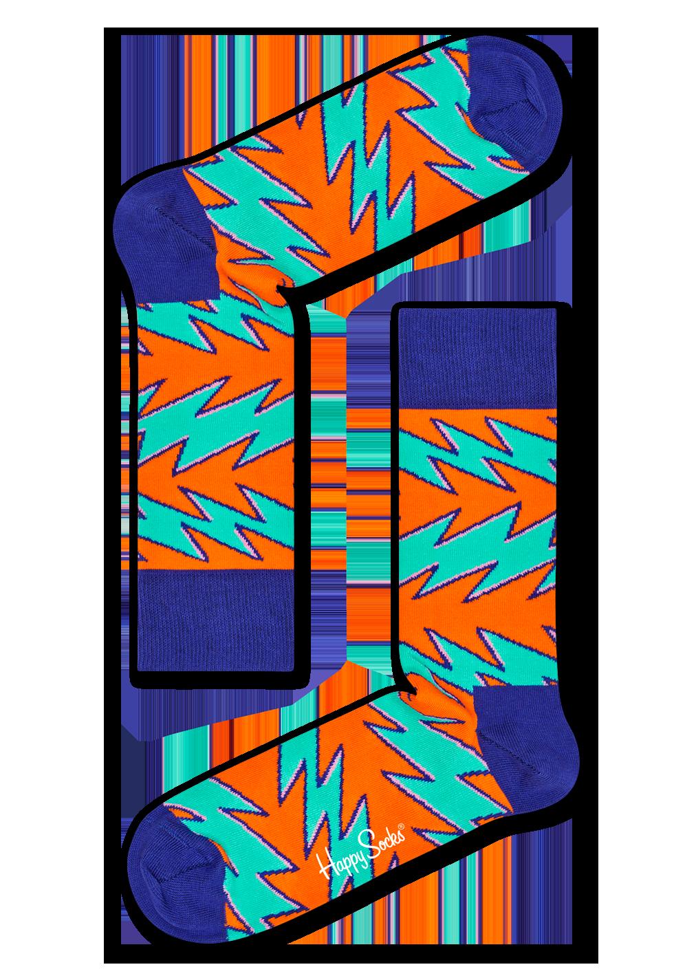 Rock n Roll Stripe Sock