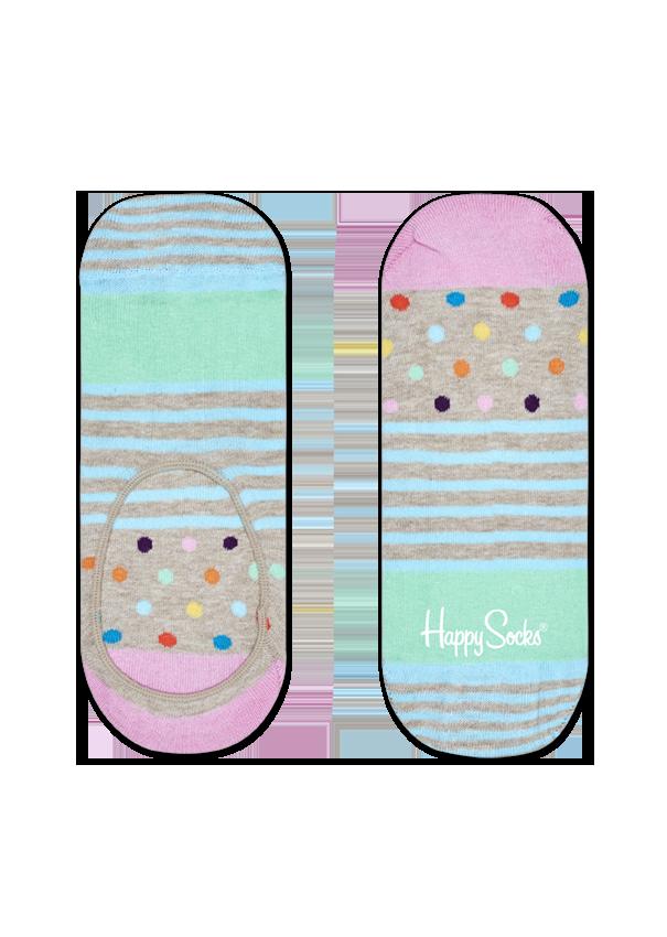 Stripes & Dots Liner Sock