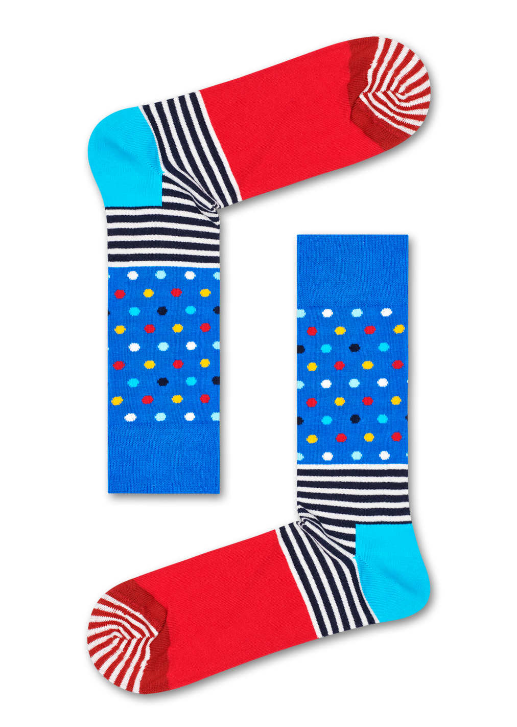 Stripe & Dot Sock