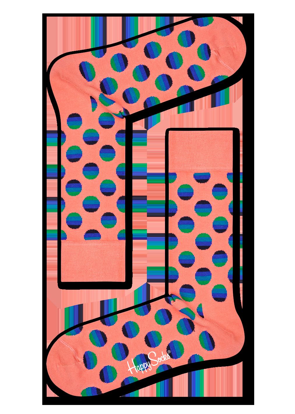 Sunrise Dot Sock