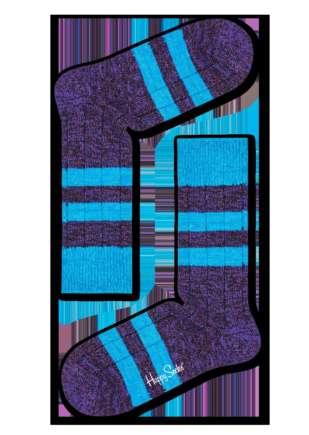 Wool Stripe Sock