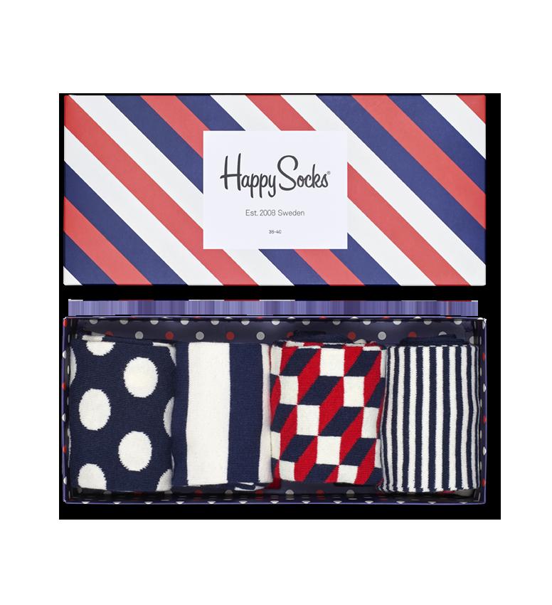 Stripe Socks Gift Box