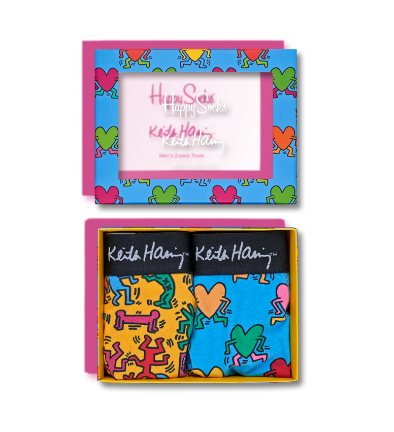 Keith Haring Trunk 2-Pack Box Set