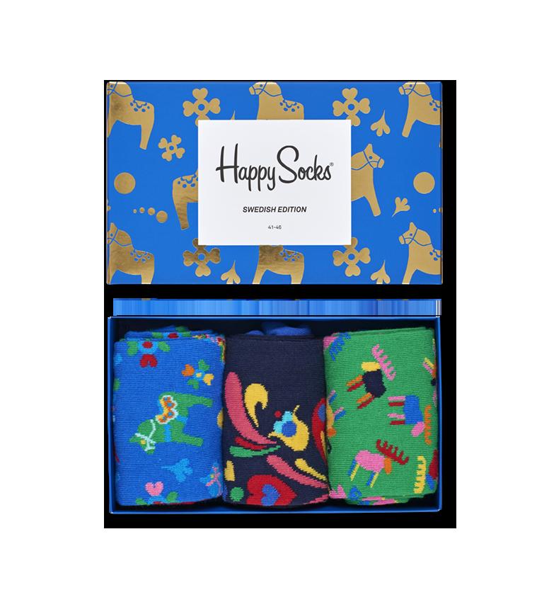 Swedish Edition Socks Gift Box