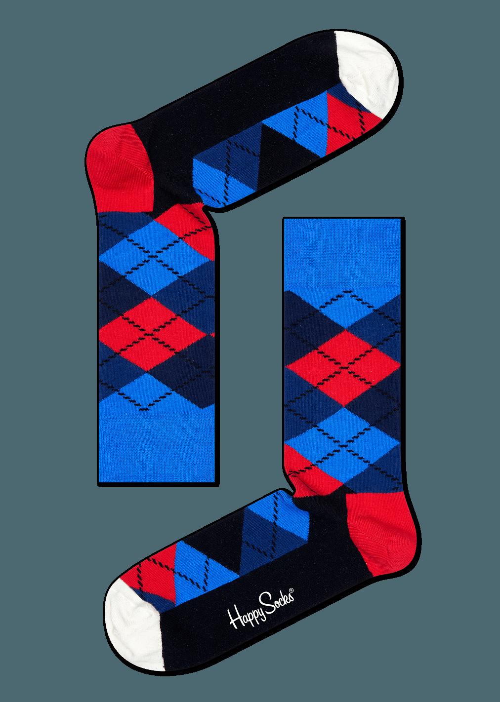 happy socks argyle sock size 1013
