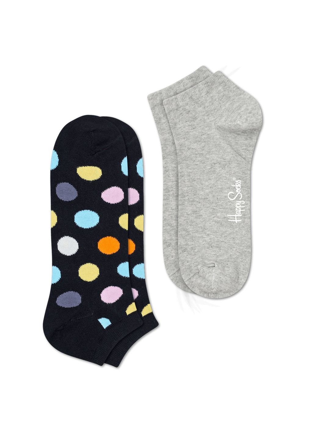 2-Pack Big Dot Low Socks