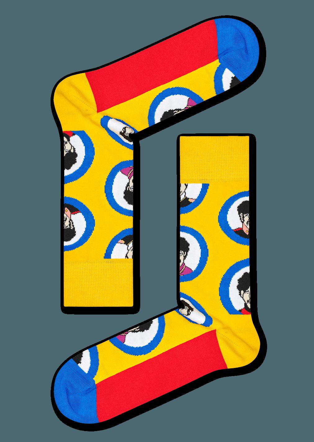 The Beatles Portrait Sock
