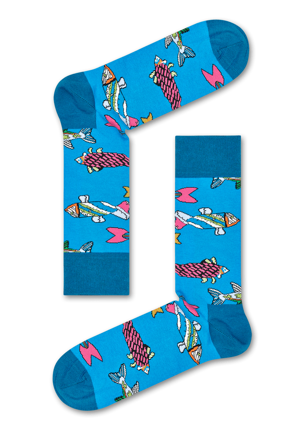 The Beatles Fish & Whales Sock