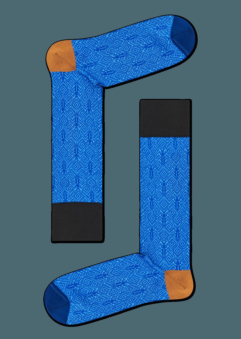 Dressed Beetle Sock