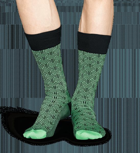 8bac8613 Grønn Dress sokker: Tree design | Happy Socks