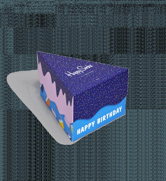 Happy Birthday Socks Gift Box 3 Pack Happy Socks