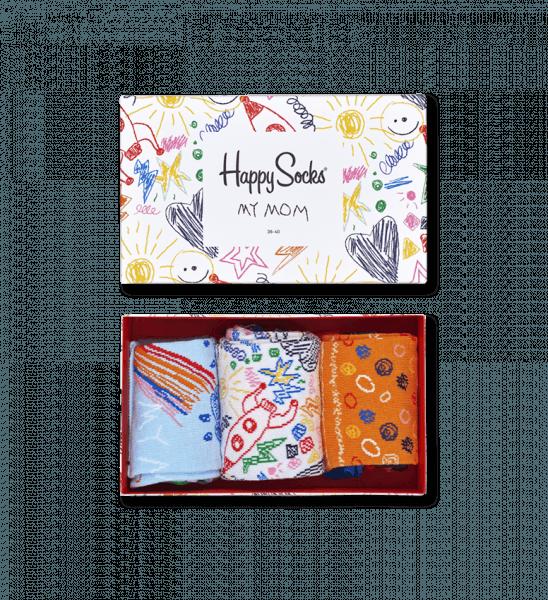 Mothers Day Sokken Gift Box 3 Pack Happy Socks