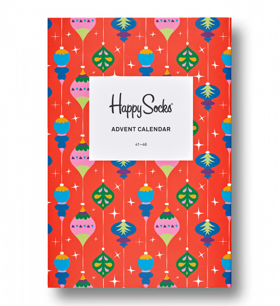 advent calendar christmas gift box happy socks