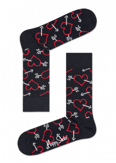 arrow heart sock - Valentines Socks