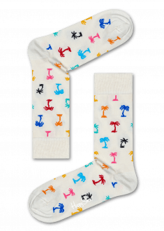 Cool Socks With Funky Multi Colored Palm Trees Buy Men And Women