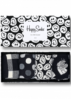 black white gift box