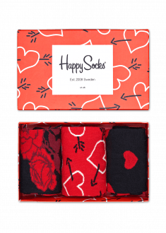Gift boxes for him and her the perfect gift by happy socks arrow heart socks gift box negle Choice Image