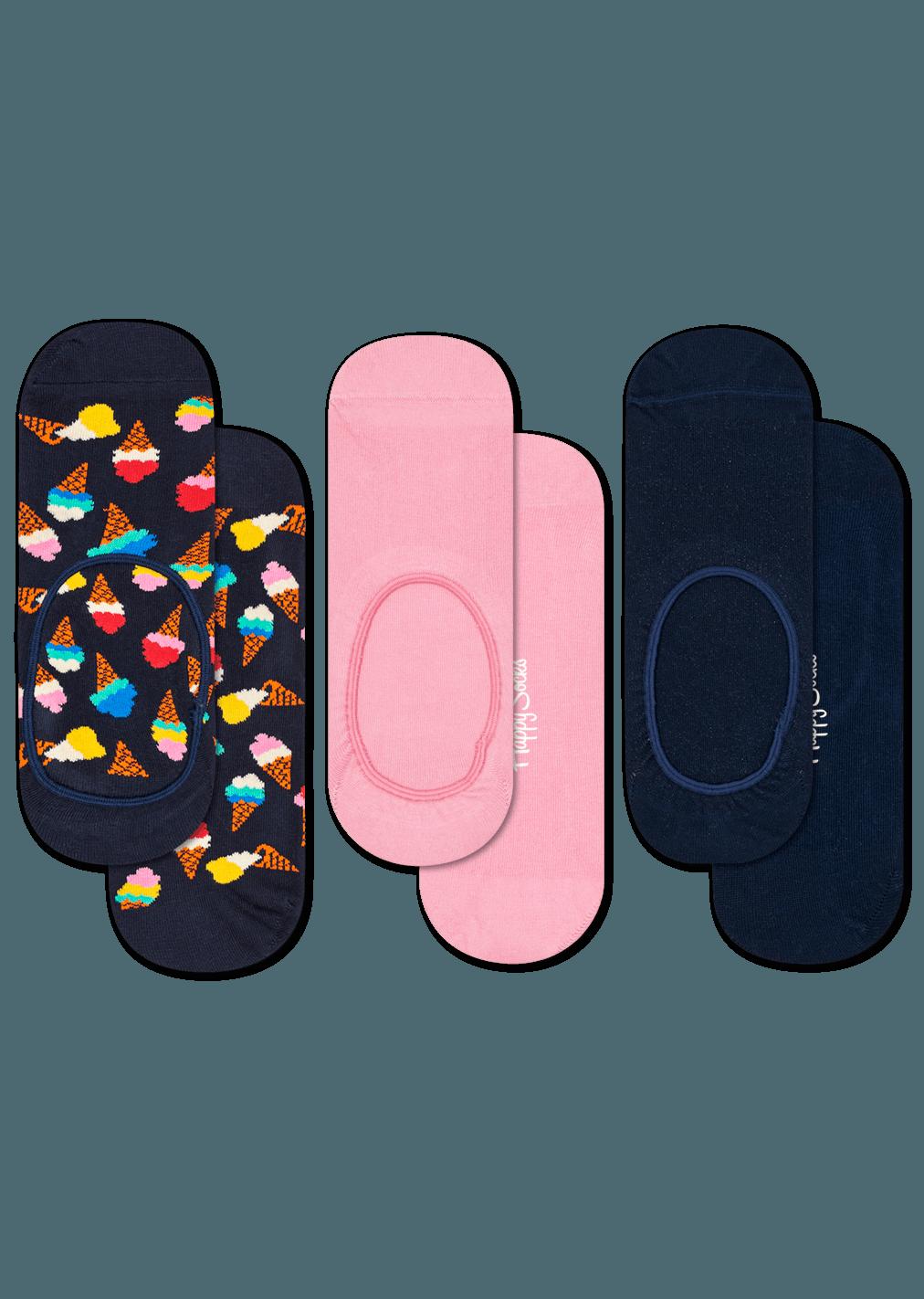 3-Pack Ice Cream Liner Sock