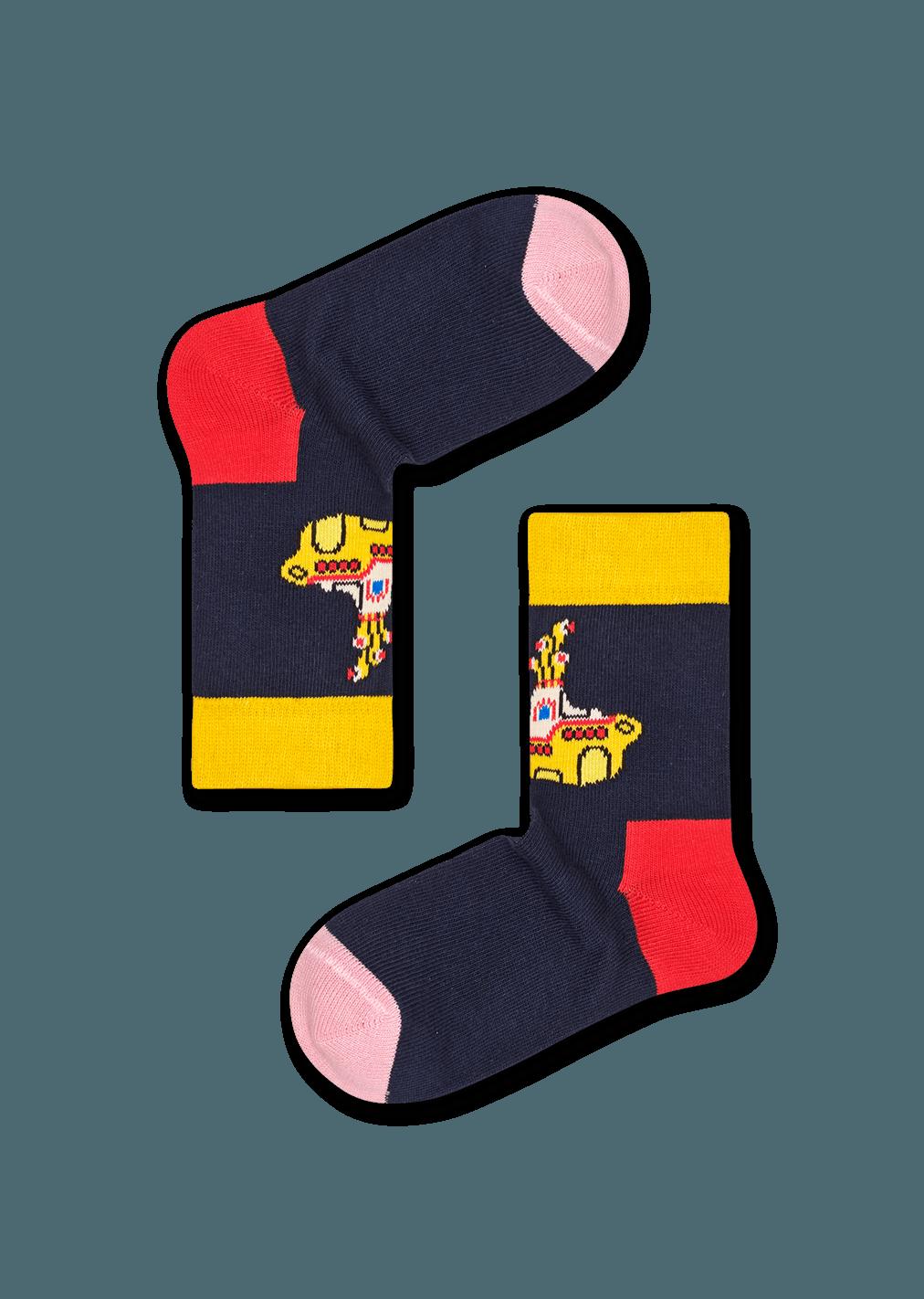 Kids Yellow Submarine Sock