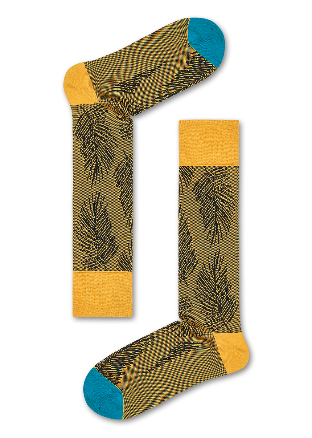 Dressed Palm Leaf Sock